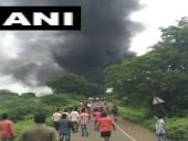 В Индии произошел взрыв на химзаводе, есть погибшие
