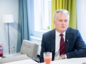 Президент Литвы не видит оснований контактировать с Путиным из-за ситуации в Украине