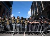 В Москве начинается несогласованная акция протеста, к локацию стянули силовиков