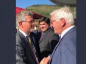Посол Украины лично встретился с Штайнмайером