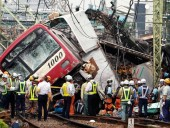 Катастрофа поезда в Японии: возросло число пострадавших, один человек погиб