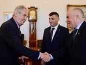 Президент Чехии принял делегацию русинов,