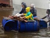 В результате ливней и наводнений в Индии погибли почти 130 человек