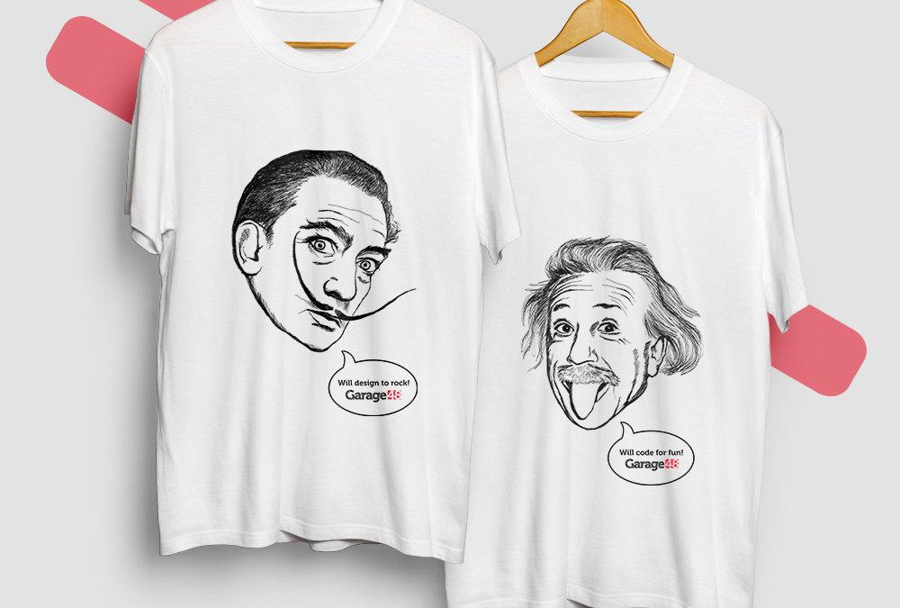 Печать на футболках с помощью высоких технологий