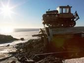 В российской части Арктики бывшая полярная станция исчезла вместе с ледником