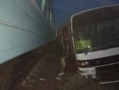 Автобус и поезд столкнулись в Казахстане, есть жертвы
