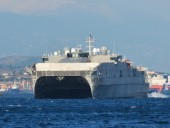 В Черное море вошел высокоскоростной корабль США