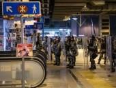 Полиция Гонконга жестоко блокировала активистов в метро