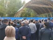 В России протестовали против боевика