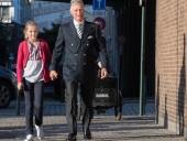 Дочь короля Бельгии пришла в школу в вышиванке