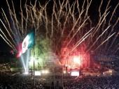 По меньшей мере 12 человек получили ожоги во время пиротехнического шоу в Мексике