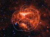 В NASA сфотографировали туманность похожую на светильник из тыквы