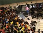 Разведка Гонконге узнала о запланированных нападения протестующих в полицию