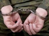 Срочника в РФ арестовали за расстрел восьми сослуживцев