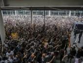Украинцам не рекомендуют посещать центр Барселоны из-за протестов