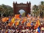 В Каталонии люди вышли на протесты из-за приговора лидерам митингующих