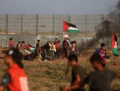 Полсотни палестинцев пострадали в столкновениях с израильской армией