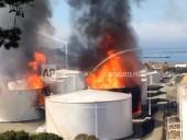 В Калифорнии на нефтехранилище возник масштабный пожар