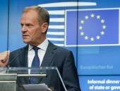 Туск считает план Джонсона по Brexit неубедительным