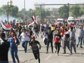 Количество погибших во время антиправительственных протестов в Ираке превысило 40 человек