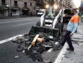 Убытки от беспорядков в Барселоне превысили 2,5 млн евро