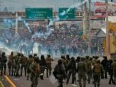 В Эквадоре количество погибших протестующих возросло до семи человек