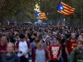 Новые протесты в Каталонии: столкновения между полицией и демонстрантами
