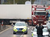 Грузовик с телами в Великобритании: полиция задержала 20-летнего подозреваемого
