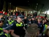 На климатических протестах в Австралии задержали более 40 человек
