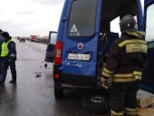 В России в ДТП с участием микроавтобуса погибли 8 человек