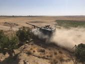 Турецкие подразделения вошли в сирийский город Телль-Абьяд