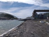 На Тайване обрушился автомобильный мост, десятки человек пострадали