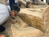 Археологи обнаружили более 20 древних египетских саркофагов