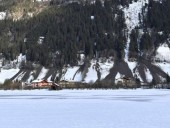 Снегопад в Австрии: один человек погиб, двое пострадали