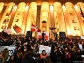 Спецназ разогнал протестующих у здания парламента в Тбилиси