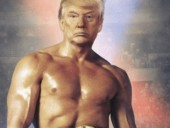 Трамп опубликовал фото в образе Рокки