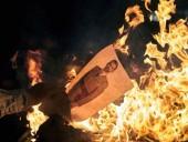 В Каталонии жгут портреты короля Испании, протестуя против его визита