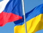 Президент Украины сегодня встретится с премьером Чехии