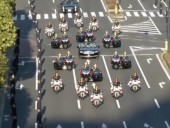 В Токио проходит торжественный парад в честь интронизации императора Японии