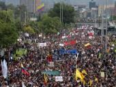 В Колумбии во время забастовки пострадали 36 человек