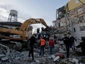 Количество погибших в результате землетрясения в Албании превысило 30 человек