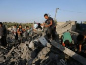 Количество погибших из-за обстрелов Израилем сектора Газа возросло до 34