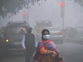 В Индии загрязнение воздуха достигло опасного уровня