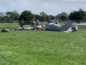 На авиашоу в США разбился военный самолет