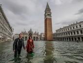 Одно из худших наводнений в истории: 82% островной Венеции оказались под водой