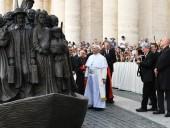 Во Всемирный день бедных Папа Римский дал обед для нуждающихся