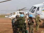 Украинские миротворцы провели успешную операцию по эвакуации персонала ООН в ДР Конго
