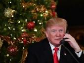 В Рождественском поздравлении Трамп призвал американцев