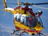 Во Франции разбился спасательный вертолет: трое человек погибли