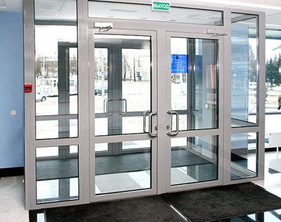 Окна и двери из алюминия от компании ЛАГОЛИТ
